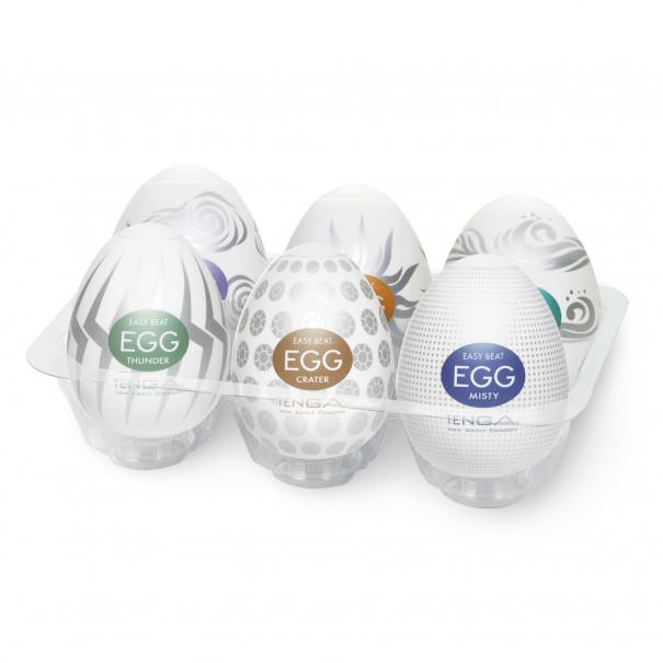 Tenga Egg: la boîte de 6 - Sensation...
