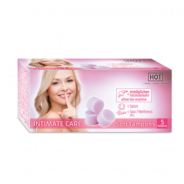 Soft Tampons Intimate Care boîte de 5