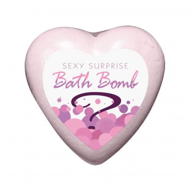 Bombe de bain surprise coeur