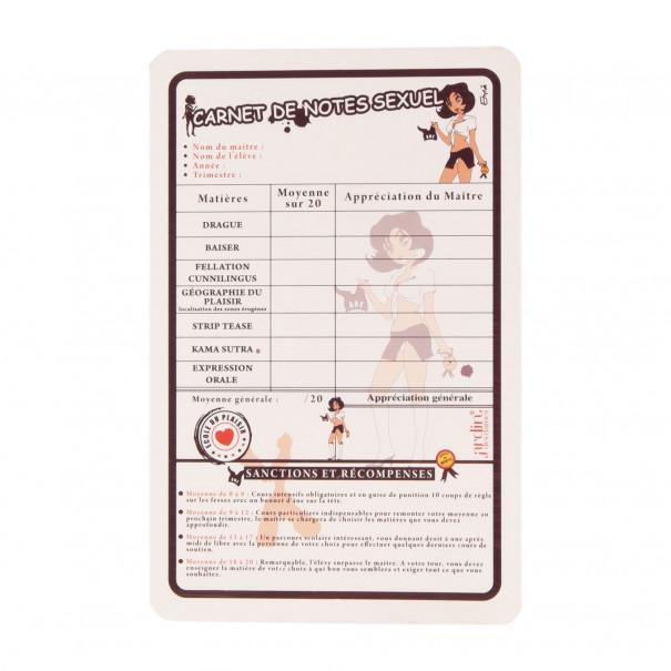 Carnet de Notes sexuelles