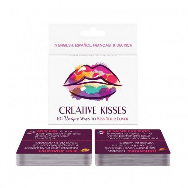 Jeu de cartes Creative Kisses