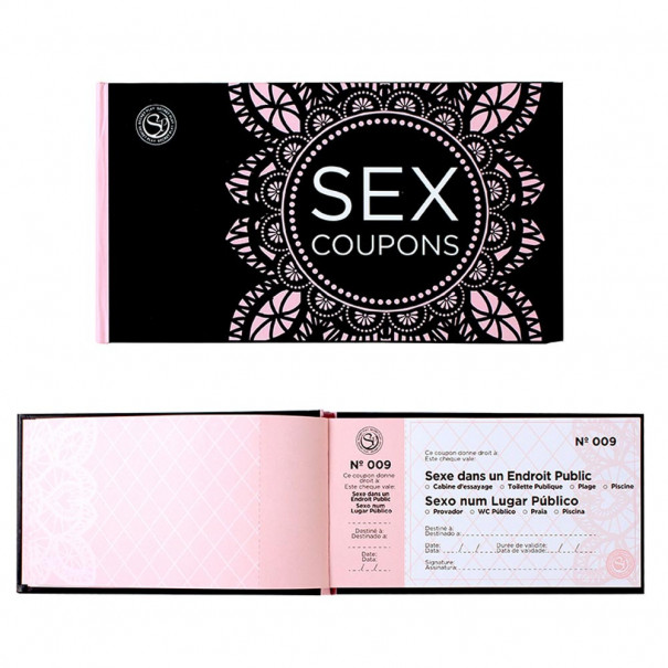 Sex Coupons chéquier coquin
