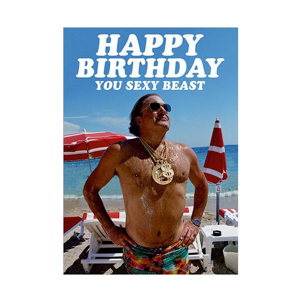 Carte d'anniversaire humoristique...