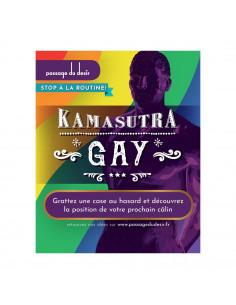 Cartes à gratter Kamasutra Gay