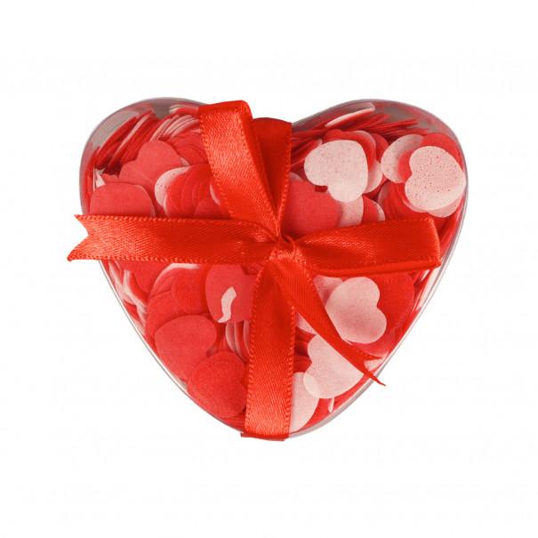 Confettis pour le bain Coeur