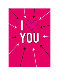 I love you : carte...