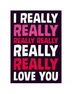 I really really love you :...