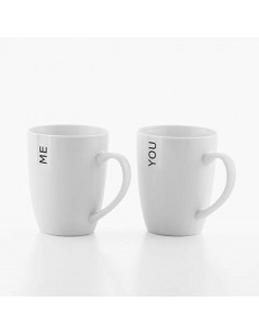 Deux Mugs You & Me