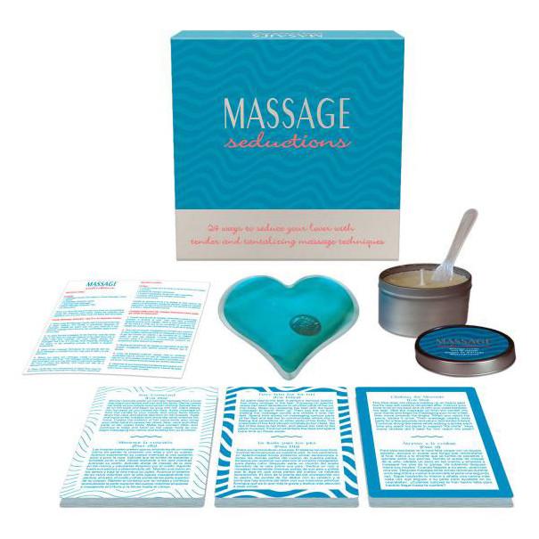 Coffret massage seduction