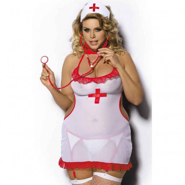 Déguisement infirmière pulpeuse