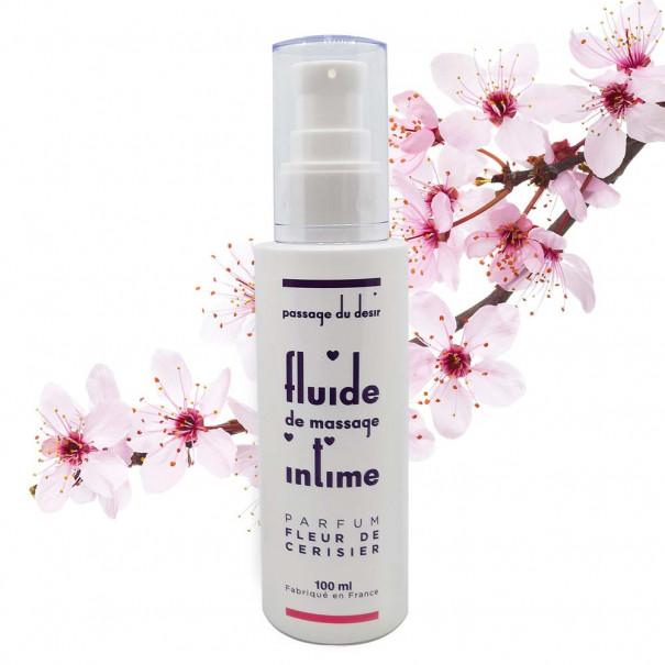 Fluide de massage intime à la fleur...