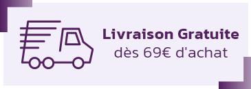 Livraison gratuite dès 69 €